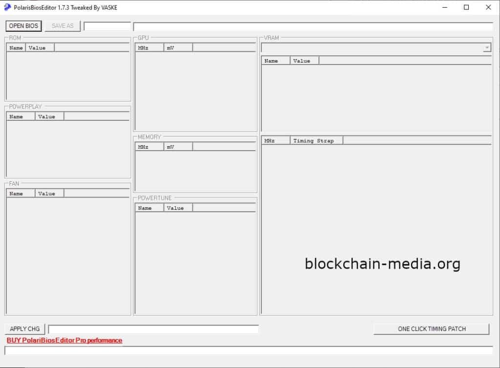 Polaris BIOS Editor 1.7.3