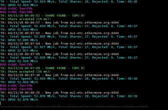Таблетка OhGodAnETHlargementPill (1080TI @ 50 Mh/s)- как увеличить хешрейт на Ethash