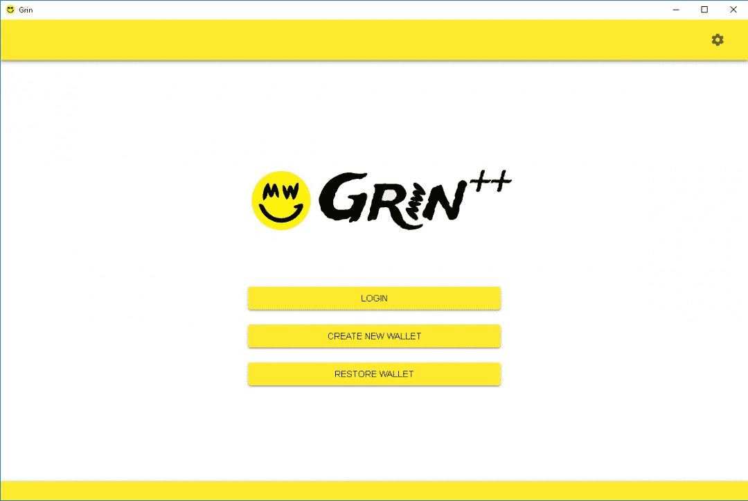 Grin++ Node & Wallet