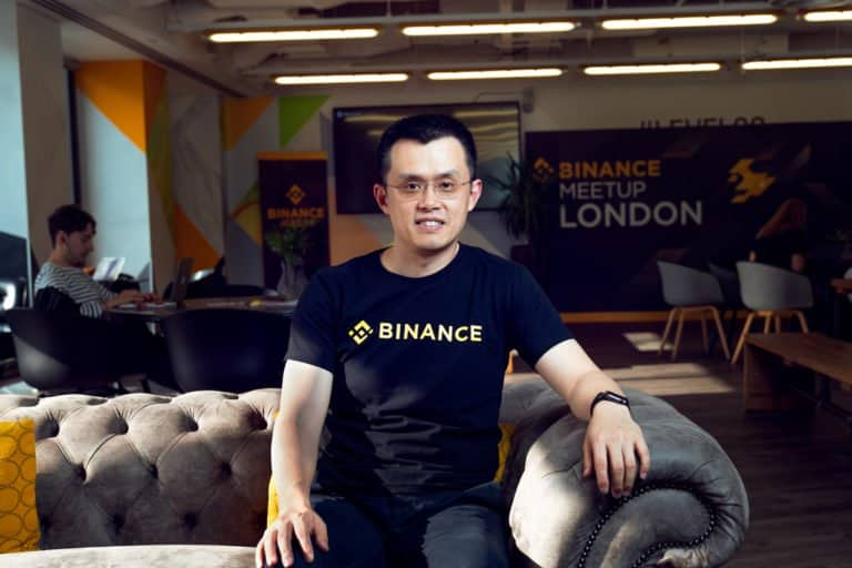 Binance CEO Chanpeng Zhao